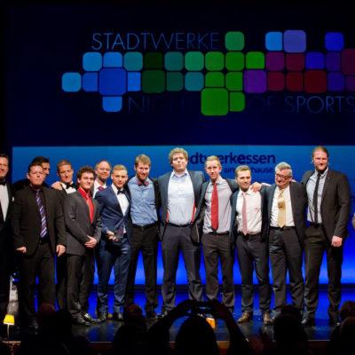 Mannschaft des Jahres - Stadtwerke Night of sports 2014