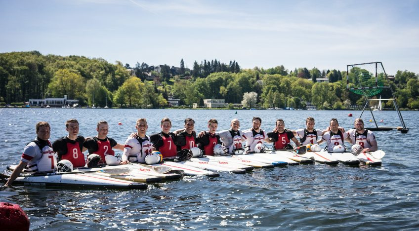 Bundesliga-Training am Baldeneysee